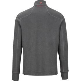 Marmot Hanging Rock Sweat-shirt avec Fermeture éclair 1/2 Homme, slate grey/burgundy
